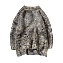 $enCountryForm.capitalKeyWord UK - M-5XL autumn winter christmas sweater men clothes 2018 fashion warm mens sweater for men pullover wear jumper holes thick SC01