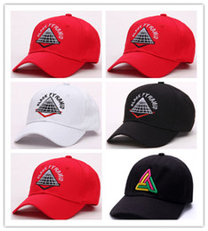 7f365066502 Hot Selling New style Snapback bone adjustable men Hats hip hop Unisex  pyramid Baseball Caps Casual black white red diamond hat