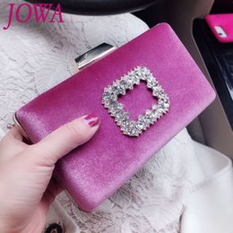 Wholesale Women s Fashion Dress Handbag New Design Shiny Diamonds Mini Evening Bag Wedding Party Bride Chain Clutch Night Black Purse