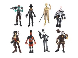 $enCountryForm.capitalKeyWord Australia - 2018 New 8 pcs Fortnite Plastic toys for kids 3.5in Cartoon game fortnite skeleton role Figure Toy