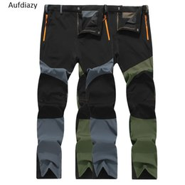 8b05977d85a5 Aufdiazy Men s Quick Dry Ultra Thin Pants Summer Spring Male Outdoor Sports  Fishing Trekking Trousers Camping Hiking Pants JM059 C18111401