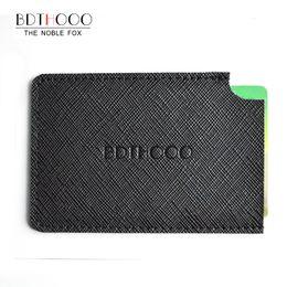 $enCountryForm.capitalKeyWord NZ - holder TIANHOO Men Credit ID Holder Slim Wallet Mini Pocket Genuine Leather Handmade Sewing Black Card Pocket
