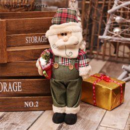 $enCountryForm.capitalKeyWord NZ - Christmas Decoration for Home Santa Claus Snowman Elk Dolls Christmas Ornaments Toy Gift Doll New Year Home Display Window Decor