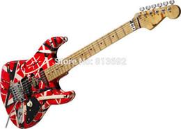 $enCountryForm.capitalKeyWord UK - Custom Electric Guitar Eddie Style Cst161104 Maple High Quality Red Guitar Free Shipping