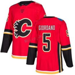 China Red Calgary Flames 13 Johnny Gaudreau Jersey Custom 27 Dougie Hamilton 5 Mark Giordano 19 Matthew Tkachuk Ice Stitched Jerseys 2018 New cheap linen gold suppliers