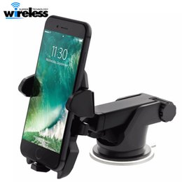 Chinese  Universal Mobile Car Phone Holder 360 Degree Adjustable Window Windshield Dashboard Holder Stand Phone GPS Holders manufacturers