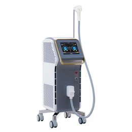 China 2018 New design 808nm diode laser hair removal machine Painless Permanent with CE and ISO and FDA for clinic use free shipping suppliers