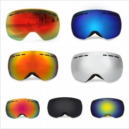 Ski Goggle Lens Color NZ - Be Nice Ski glasses Double Lens UV400 Anti-Fog Big Spherical Skiing Glasses Winter Sport Protective Snowboard Skiing Eyewear Goggles Glasses