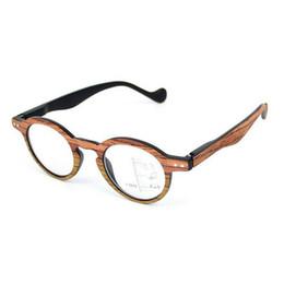d08f1acfed43f Vidrios de lectura progresivos retros de la vendimia Lentes multifocales  Multi Focus Gafas de multifunción cercanas y lejanas Eyewear + 1.0 ~ + 3.0  Grano de ...