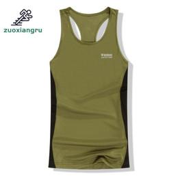 $enCountryForm.capitalKeyWord Australia - Summer Sleeveless Outdoor Men Army Fans Hiking T-shirt Cotton Circular Neck Versio Camouflage Color Tactical T-shirt