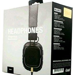 Marshall Major II 2ª Geração de fones de ouvido Com Microfone Com Cancelamento de Ruído Graves Profundos Hi-Fi HiFi Headset Professional DJ Monitor de Fone De Ouvido 1 PCS em Promoção