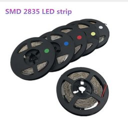 high bright led strip 2020 - 5m 300 LEDs 2835smd LED Strip High Brightness Nonwaterproof DC 12V 60leds   M Diode Adhesive tape super bright than 3528