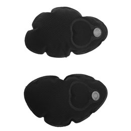 9e07fee0f4e93 Womens Black Inflatable Bra Pad Inserts Chest Brest Cups Cozy Pads For  Swimsuit Bikini