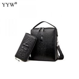 938c2862ea3a Мужчины Cut-Resistant портфель бизнес мужской Pu кожаная сумка портфель  сумки чехол для документов Сумка 2 шт.
