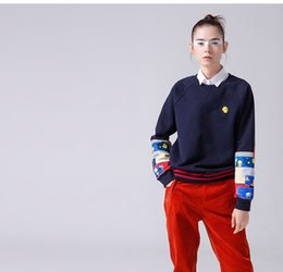 Wholesale harajuku cartoon tracksuit for sale – custom New Women Sweatshirts And Hoodies Harajuku Cartoon Printed Pullover Hot sale Tracksuits O Neck Long Sleeve Sweatshirt Sudadera