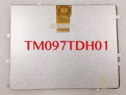Tft Tablet NZ - New original 9.7 inch tablet lcd screen TM097TDH01 50PIN HD TFT LCD Display Screen free shipping