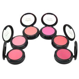 Sleek Makeup Palettes UK - Sweet Peach Blush Face Palette Natural Make Up Blusher Sleek Rouge Cosmetics With Makeup Brushes Mirror