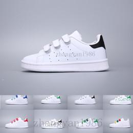 size 40 263aa 528e4 Estilo de niño blanco online-adidas superstar stan smith Zapatos para niños  Kids Estilo Clásico