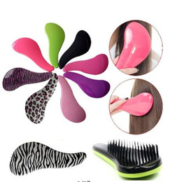 Magic Handle NZ - 2018 New Arrival Hot Magic Detangling Handle Shower Tamer Hair Brush Comb Salon Styling Tool Christmas