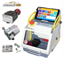 $enCountryForm.capitalKeyWord Australia - Top New 3 Clamps automatic key cutting machine SEC-E9 portable smart duplicate car key cutting machine SEC E9 Work Car Truck Motorcycle