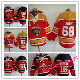 Florida Panthers hockey Jerseys 68 Jaromir Jagr 16 Aleksander Barkov 5  Aaron Ekblad all Stitched Winter coats mens designer hoodies b0d858426