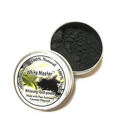 Dent de blanchiment buccale Bamboo Charcoal Activé Poudre De Décontamination Dent Jaune Tache Fumée Dent Tache Mauvaise Souffle Soins Oraux 10g