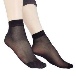 eed5d4d51 High Quality Women Velvet Socks Women Socks Summer Slim Silk Transparent 5  Pair   10 Pieces Ankle Sox Women s