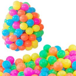 $enCountryForm.capitalKeyWord Australia - 50pcs 6cm Pool Balls Eco-Friendly Soft Ocean Ball Colorful Swim Pool Plastic Balls Tent Play House Toy