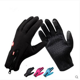 $enCountryForm.capitalKeyWord NZ - Touch Screen Windproof Outdoor Sport Gloves For Men Women army guantes tacticos luva winter windstopper waterproof gloves