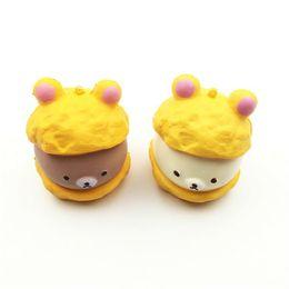 $enCountryForm.capitalKeyWord UK - At A Loss Direct Selling Kawaii Cute Squishy Rilakkuma Cap Panda Bear Cartoon Super Slow Rising Phone Strap Pendant Bread Cake Kid Toy Gift
