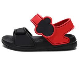 97e98f0f Sandalias de los niños de verano nuevo estilo Niños zapatos niños moda recorte  niños lienzo sandalias de lluvia transpirable Sandalias de los niños