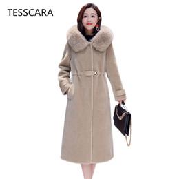 $enCountryForm.capitalKeyWord Canada - Women Winter Long Warm Jacket Coat Thick Fur Outwear Office Lady 2018 New Fashion Plus Size Slim Pu Elegant Brand Clothing