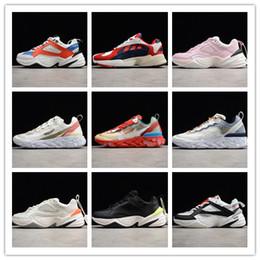 Bridge machine online shopping - 2018 Ultra Soft Bottom Cushioning Running Shoes Originals M2K Tekno Retro Dad Genuine Leather Sports M2K High Bridge Shield Machine Sneakers