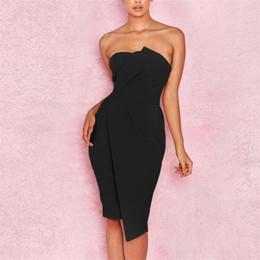 $enCountryForm.capitalKeyWord Australia - Summer Dress 2019 New Fashion 2019 New Fashion Sexy Women Fashion Off Shoulder Party Dress Front Asymmetric Dress Evening Gown