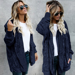 Stock Clothes Winter Australia - Goods In Stock 2018 Suit-dress Autumn And Winter Baby Keep Warm Long Fund Both Sides Clothes Defence Leather And Fur Loose Coat