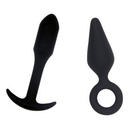 $enCountryForm.capitalKeyWord UK - 2 Pcs Set Silicone Anal Plug Butt Plug Smooth Touch Prostate Massage Anal Dildo Vibrators Sex Toys For Women Anus Adult Products S1024