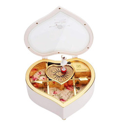 $enCountryForm.capitalKeyWord NZ - wholesale 2018 Hot Christmas Kid Children Gifts Romantic Design Heart Shape Dancing Girls Hand Crank Music Box Best Gift