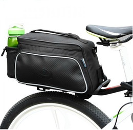 $enCountryForm.capitalKeyWord Canada - New Roswheel Practical Bicycle Trunk rear bike panniers Carrier Bag Pack Impact Resistance and Tear-resistant Black Carrier Bag Pack