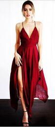 $enCountryForm.capitalKeyWord Canada - 2018 hot-sell new fashion sexy soft joker cultivate one's morality loose the big pendulum irregular women's one-piece dress