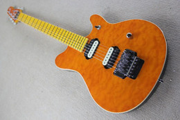 Guitar Factories Canada - China guitar factory custom100% New High Quality Ernie Ball Music Man 6 Strings Electric Guitar with Tremolo free shipping 914