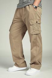 $enCountryForm.capitalKeyWord Canada - Men's Plus Size XXXL 4XL 5XL 6XL Cargo Pants Brand New Men Casual Pockets Outdoor Baggy Training Pant