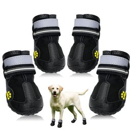 Dogs Booties Shoes Australia - Dog Shoes Socks For Medium Large Dogs  Pitbull Waterproof Winter Pet 7ad66b4793fe