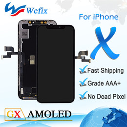 $enCountryForm.capitalKeyWord NZ - New Arrival OEM GX Amodel LCD For iPhone X 10 Black & Touch Glass Digitizer Assembly Display Replacement Official Quality + Face Recognition