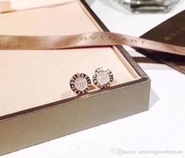 2018 новое прибытие S925 серебро для женщин Стад со всеми бриллиантами мода фирменное наименование серьги ювелирные изделия для женщин и мужчин свадебные подарки PS6789 на Распродаже