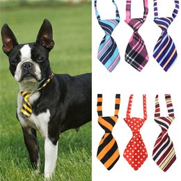 Cat headdress online shopping - Polyester silk pet tie dog headdress necktie ddjustable nice bow tie cat tie pet supplies color free ship
