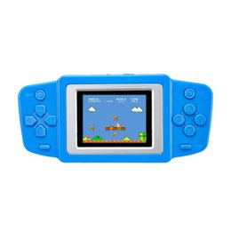 video game bit 2019 - EDAL Game Console Classic 2.5'' Ultra-Thin Portable Video Game Player 268 8 bit NES Games Gamepad Children