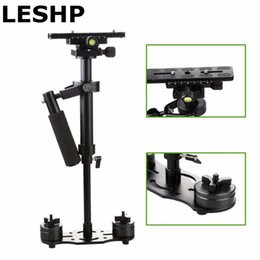 Discount camera stabilizer steadycam - S40 S60 S80 Steadycam Scalable Carbon Fiber Handheld Stabilizer Steadicam for DSLR Camera Compact Camcorder