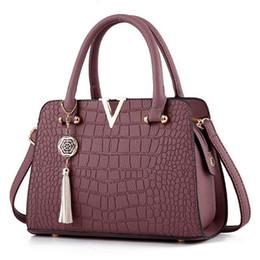$enCountryForm.capitalKeyWord NZ - New Fashion Alligator leather women handbags famous designer brand bags Luxury Ladies Hand Bags And Purses Messenger shoulder bags