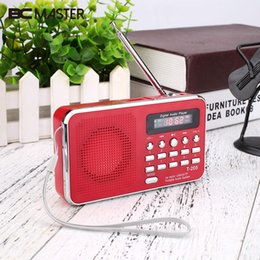 $enCountryForm.capitalKeyWord NZ - BCMaster Portable FM Radio SD TF Micro SD Card USB AUX In Speaker Digital Multimedia MP3 Music Loudspeaker FM Radio Mini Red