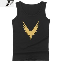 logan paul großhandel-LUCKYFRIDAYF logan paul Tank Tops Männer Frauen Sommer Sleeveless Workout Tank Top Frauen Mode Hip hop Stil Casual Weste